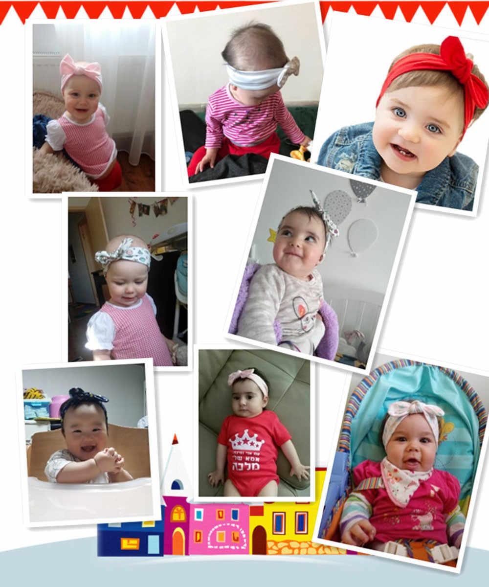 Diadema de bebé bonita para recién nacido, accesorios florales anudados para el cabello para niñas, accesorios para fotografía, triangulación de envío 2020