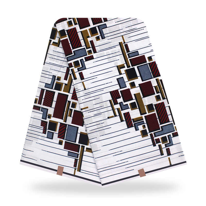 Macaroni Afrikaanse Wax Stof Stof Gegarandeerd Echte Wax Stof Ankara Nieuwe Mode Dashiki Beste Prijs Voor Jurk