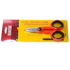 Image 5 - High Quality Fiber Optic Kevlar Cutter Scissors Kevlar aramid fiber For sharp scissors, scissors jumper wire pigtail FTTH Tools