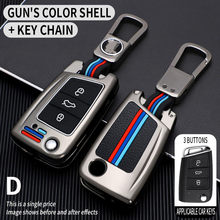 Car Key Case Cover For Volkswagen VW Golf 7 gti mk7 r Touran Skoda Octavia 3 Superb Karoq Kodiaq Seat Leon mk3 Ateca Accessories