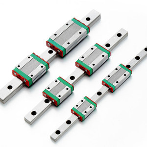 MGN7 MGN9 MGN12 MGN15 100 - 900mm carril lineal miniatura deslizante 1pc MGN guía lineal + 1pc MGN7H o MGN7C carro 3D impresora CNC