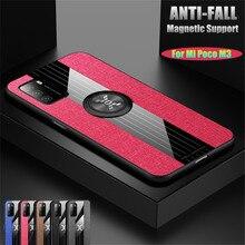 Ring-Case Phone-Cover Mi-Poco Redmi Magnetic-Holder Xiaomi for M3 F2 Pro X3 NFC Note-8/7-9s/9-pro/..