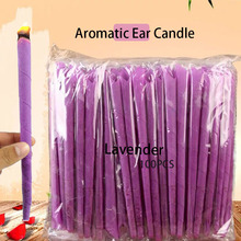 40-100pcs Hopi Ear Wax Candle Cleaner Purple Indian Coning Fragrance Cleaning Removal Tool health