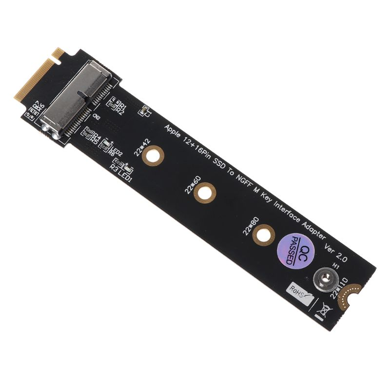 New PCIe SSD to M.2 Key M <font><b>Adapter</b></font> Card for 2013 2014 2015 2016 for <font><b>Macbook</b></font> Air Mac Pro Retina Hard Drive Converter to NGFF <font><b>M2</b></font> image