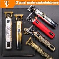 2021 USB Elektrische Haar Clippers Rasierer Bart Trimmer Professionelle Männer Haar Schneiden Maschine Bart Barber Hair Cut