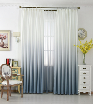 5 Colors Countrycurtains Gradient Style Curtains For Window Living