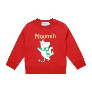 Image 3 - Moomin spring summer long sleeve thick tshirt cartoon Chrismas Finland cotton tshirt green o neck