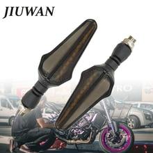JIUWAN 2 PCs Motorcycle LED Turn Sibnal Brake Light for Harley sportster Honda Kawasaki BMW Yamaha Suzuki Triumph KTM