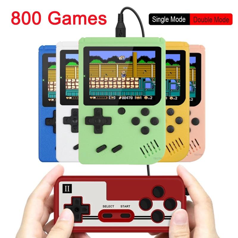 Console de jeu vidéo rétro TV, 800-en-1, Portable, cadeau pour enfants