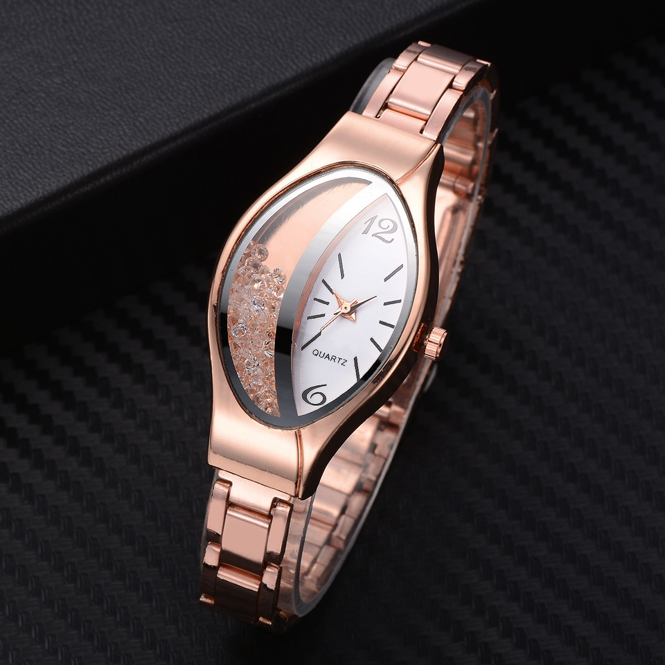 Luxury Fashion Crystal Watches Women Ladies Watches Stainless Steel Women's Watches Quartz Wristwatches Hodinky Dames Horloge