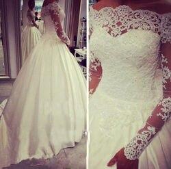 Luxury Off Shoulder Beads Bridal Bolero Jacket Shawl Long Sleeve Lace Applique Wedding Top White Ivory
