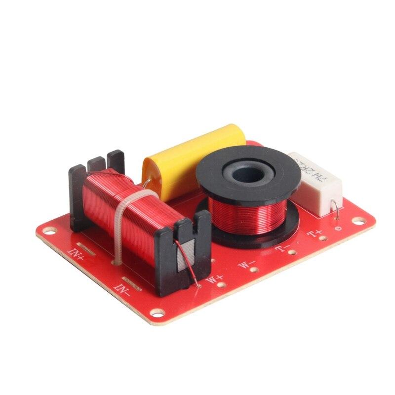 130W Lautsprecher Crossover 2 Weg High-Low 8 Ohm Frequenz Teiler für 6 Zoll Lautsprecher