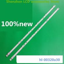 4 جزء/الوحدة ل 6 LED HL 00320A30 0601S 07 A1 2 6 الفضة IP LE32/495523 hl 00320a30 6V 585 مللي متر 100% جديد