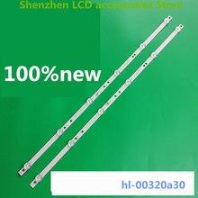 4 ชิ้น/ล็อตสำหรับ 6 LED HL 00320A30 0601S 07 A1 2 6 เงินIP LE32/495523 Hl 00320a30 6V 585 มม.100% ใหม่