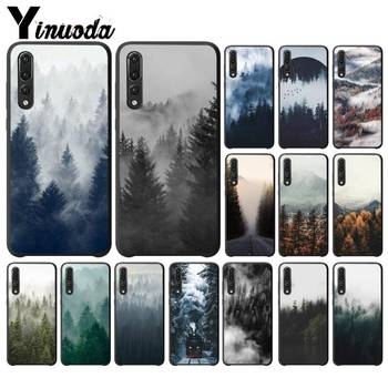 Yinuoda Take Away Nature art Cloudy mountains DIY Phone Case for HuaweiY9 2018 HONOR 8 8X 9 9LITE View 9 10 honor 10 20 lite image