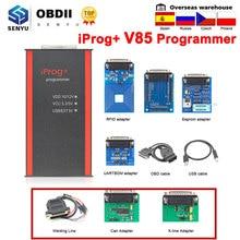 Iprog pro 2019 v85 completo ecu programador chave iprog + immo odômetro quilometragem correção airbag redefinir iprog v84 pk digiprog 3 carprog
