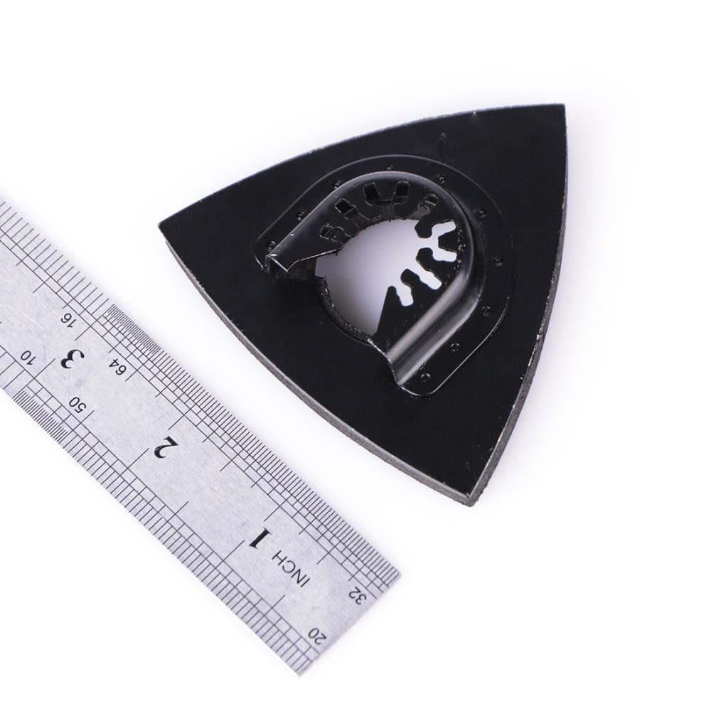 1 шт. 82 мм многоинструментальные лезвия шлифовальная площадка возвратно поступательное пильное лезвие заподлицо треугольное колебание для домашнего электроинструмента в наличии| |   | АлиЭкспресс