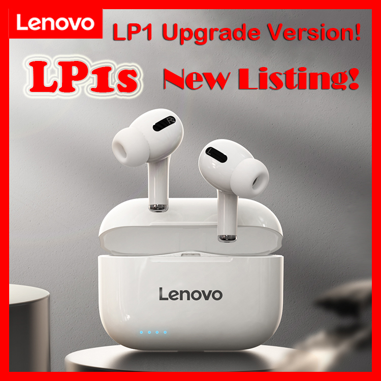 Lenovo LP1  LP1s True Wireless Bluetooth Headset Sports Suitable for iOS Android Games No Delay Long Standby  Battery Life