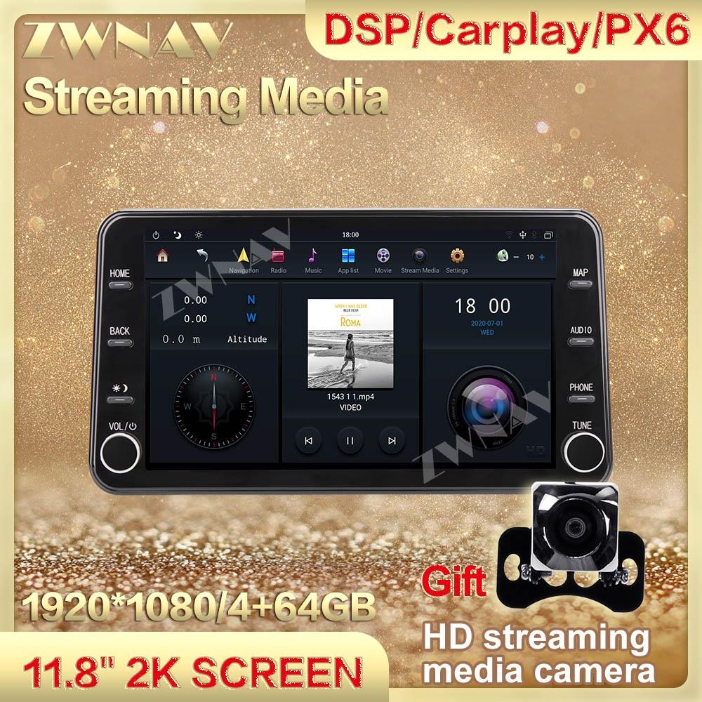 4+64G MAX-PAD Android 9.0 Car Multimedia Player streaming media For Jeep Wrangler 2011-2017 HIFI Navigation Head unit Auto Radio
