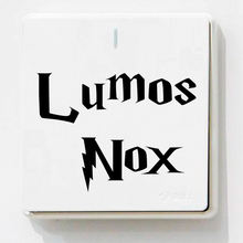 Famous Moives Wall Stickers Classic Switch Decals For Kids Bedroom Wall Decor Vinyl DIY Sticker Removable Lumos Nox Wallpaper(China)
