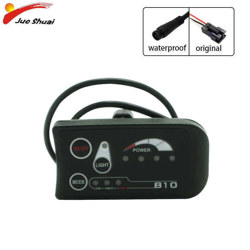 Electric Bike 36V 48V 3 Speed LED Control Panel Display Meter 890 E-bike KIT NEW