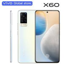 Оригинальный Новый Vivo X60 5G сотовый телефон Exynos 1080 7,36 мм толстое ядро 6,56 дюймов AMOLED 120 Гц Rate Reflash 48.0MP камера мобильный телефон