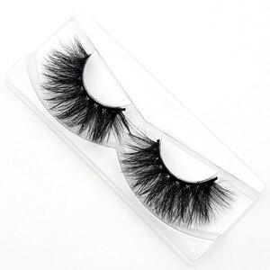 Image 2 - Visofree 거짓 눈 가위 자연 100% 수제 두꺼운 거짓 속눈썹 확장 섹시한 부드러운 눈 속눈썹 밍크 거짓 속눈썹 D22