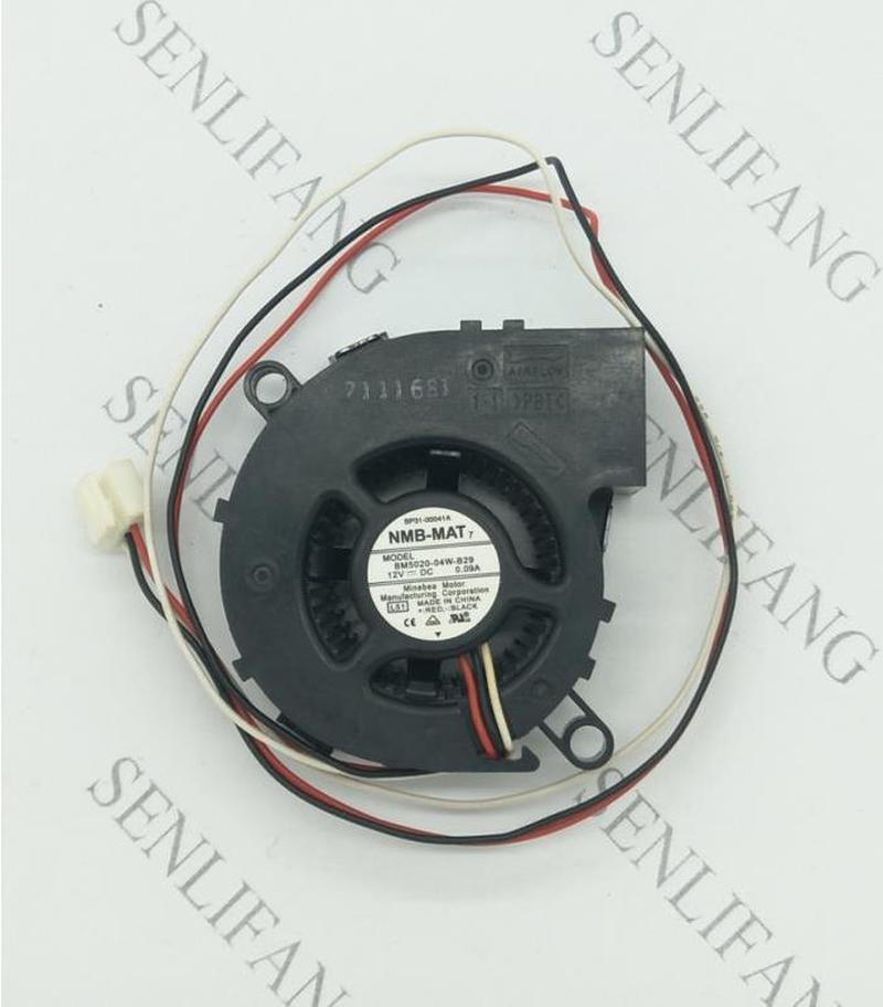 New Original NMB 5CM BM5020-04W-B29 5020 Dc12v MS510 Projector Fan L51 SP-A600