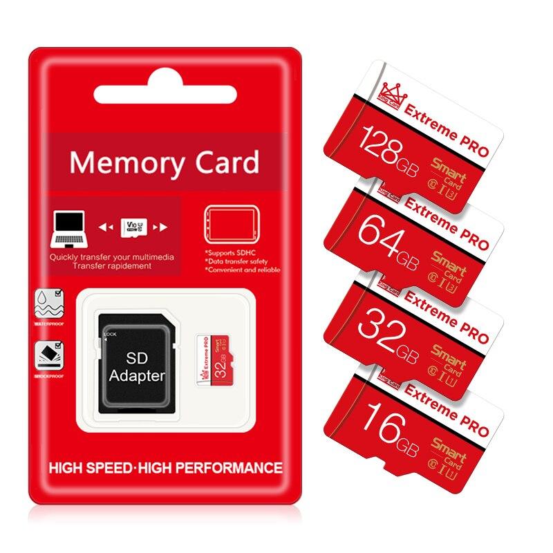 Высококачественная карта памяти micro sd 128 Гб 64 ГБ 32 ГБ 16 ГБ 8 ГБ SDXC SDHC micro sd карта памяти для телефона/планшета/ПК