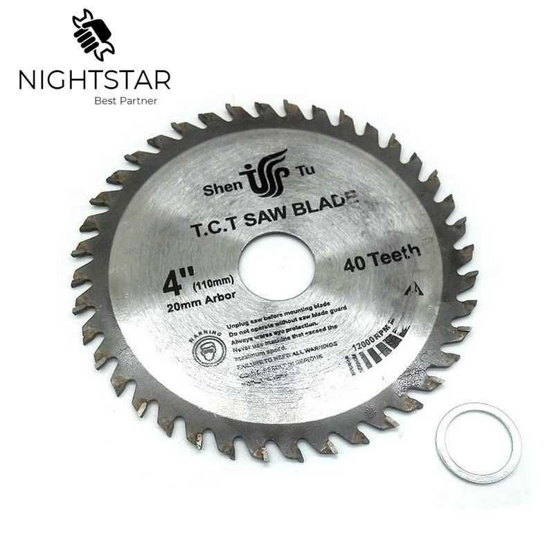 4 Inch 40Teeth Circular Saw Blades Tungsten Steel Alloy Saw Blades For Wood Aluminum Cutting 110mm TCT Saw Blades