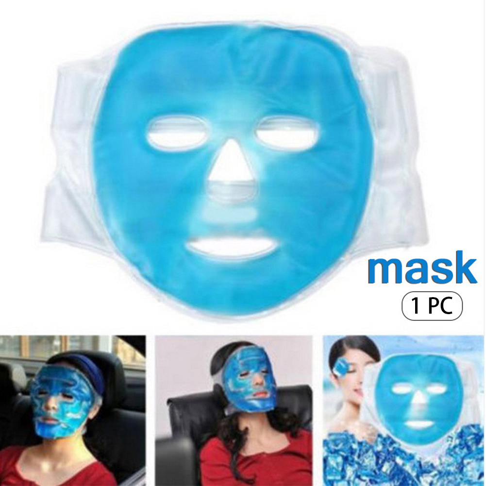 Full Hot Treatment Adhesive Dark Circle Daily Cold Gel Face Home Fatigue Relieve Antiallergic Skin Care Ice Compress