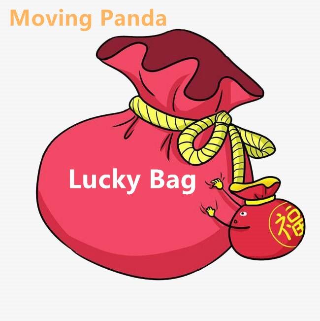 Moving Panda Lucky Bag