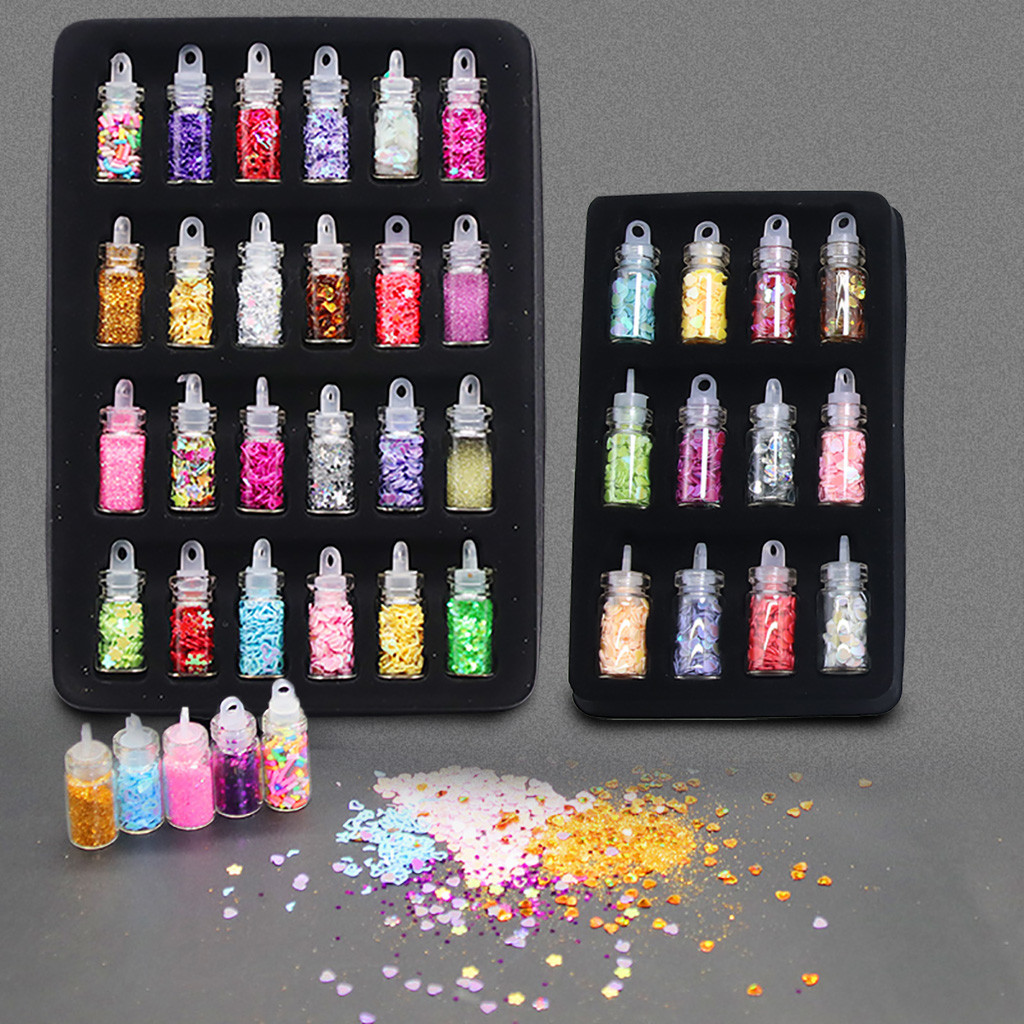 Toys Slice-Decoration Slime Arts Crafts DIY Sequins/glitter-Filler Children Diy-Kit  title=