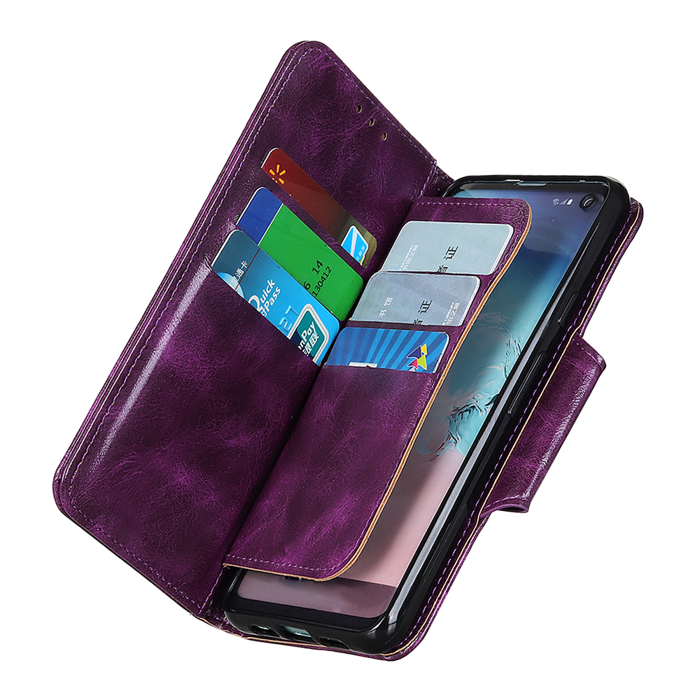 Image 5 - 6 Card Slots Wallet Flip Leather Case for Sony XZ5 XZ4 XZ3 Xperia 20 10 Plus L3 Stand Magnetic Closure ID Credit Cards Pocket-in Wallet Cases from Cellphones & Telecommunications