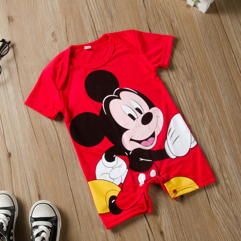 H8ca22dcd54734f608491f9237dafabcf6 Newborn Mickey Baby Rompers Disney Baby Girl Clothes Boy Clothing Roupas Bebe Infant Jumpsuits Outfits Minnie Kids Christmas