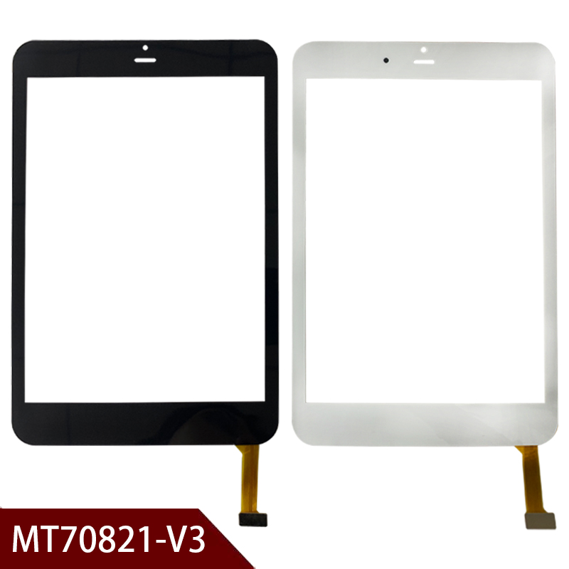 8'' Inch Glass MID Sensor For RoverPad Air 7.85 3G MT70821-V3 Tablet Touch Screen Touch Panel Free Shipping