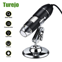 Microscopio Digital con cámara 3 en 1, 1600X, USB, portátil, electrónico, para soldar, lupa LED para reparación de teléfono móvil