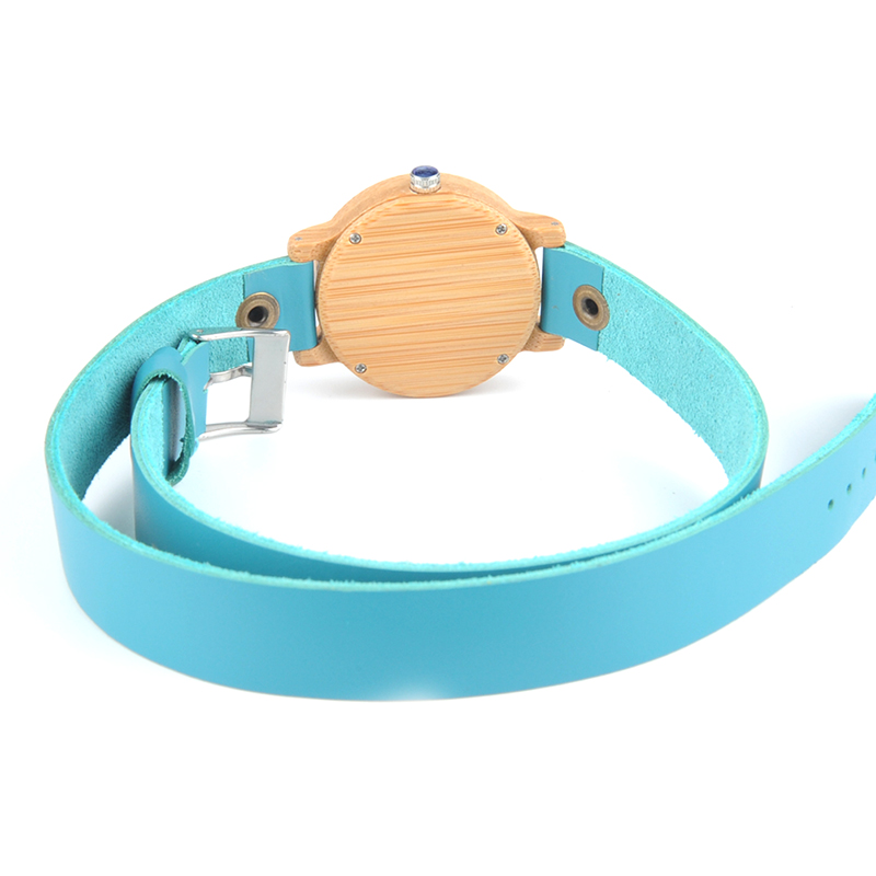 Image 4 - BOBO BIRD M22 Handmade Women Unique Wood Watch Fashion Brand For Ladies Watch With Quartz Movement Montres femmes With Gift Box-in Women's Watches from Watches