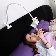 Universal Phone Holder Flexible 360 Clip Mobile Cell Phone Holder Lazy Bed Desktop Bracket Mount Stand Stand Base bracket