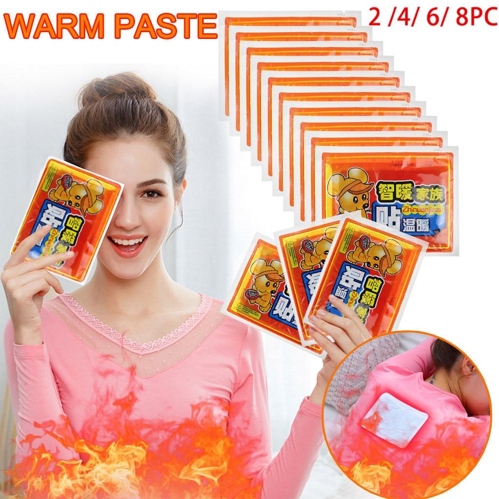 Patch de chaleur durable de bâton de réchauffeur de corps gardent le pied chaud de jambe de main tampons de pâte accessoires de marchandises de ménage réchauffeur de bâton plus chaud