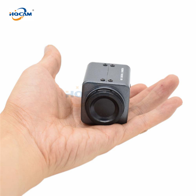 HQCAM Mini 1080P BOX AHD Camera SONY IMX327 WDR Ultral Low Illumination 0.0001Lux Starlight Color Industrial Inspection Cashier