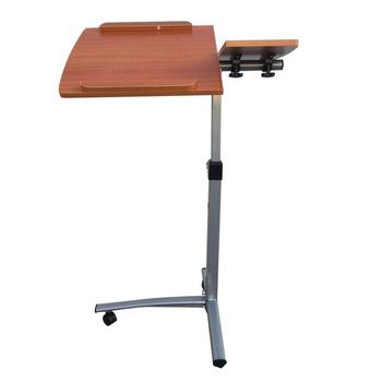 Home Use Multifunctional Lifting Computer Desk Brown Exquisite look,  standing desk laptop desk office desk study table.