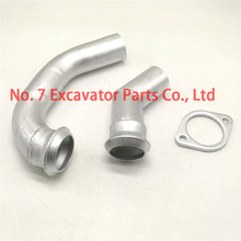 Excavator fittings CAT 306C  307D 308D muffler connection pipe clamp