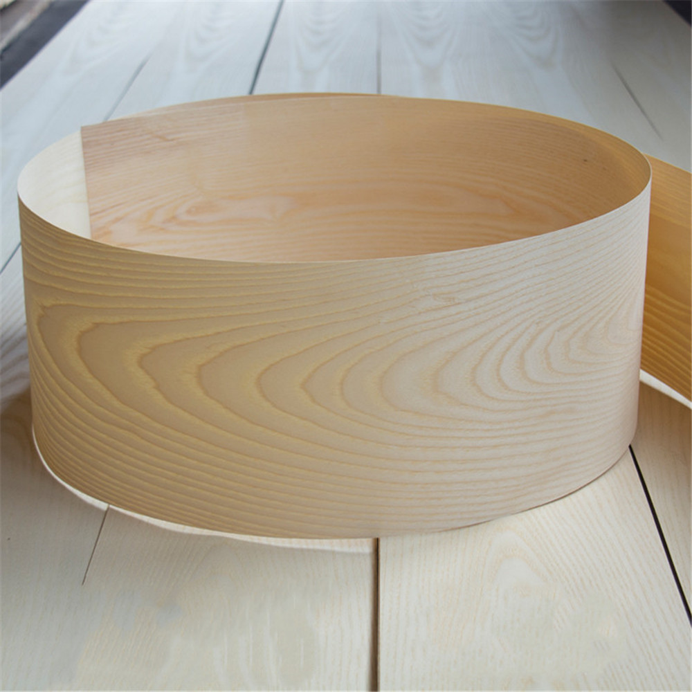 2x Natural Genuine American Ash Wood Veneer Furniture Veneer 15cm X 2.5m 0.4mm Thick C/C