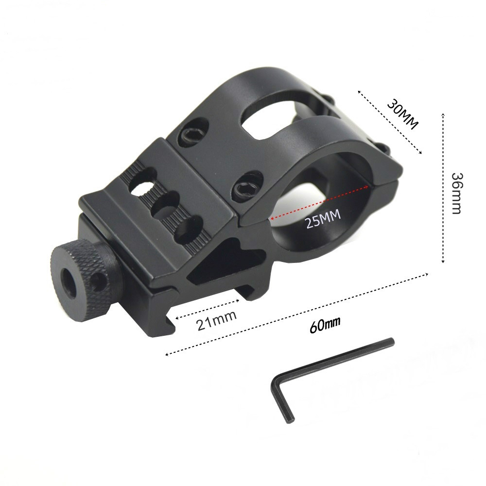 T2008 25.4mm Ring Picatinny 21mm Weaver Rail Airsoft Rifle Shot gun light Laser sight Scope Stents Hunting Mounts accessories