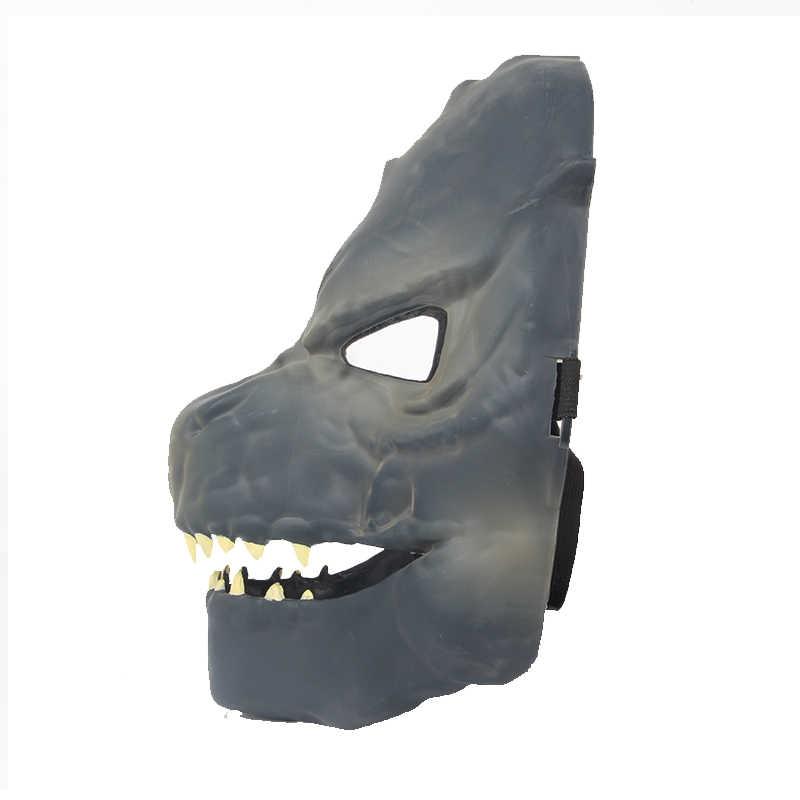 La máscara de Gojira Cosplay PVC figura de acción modelo