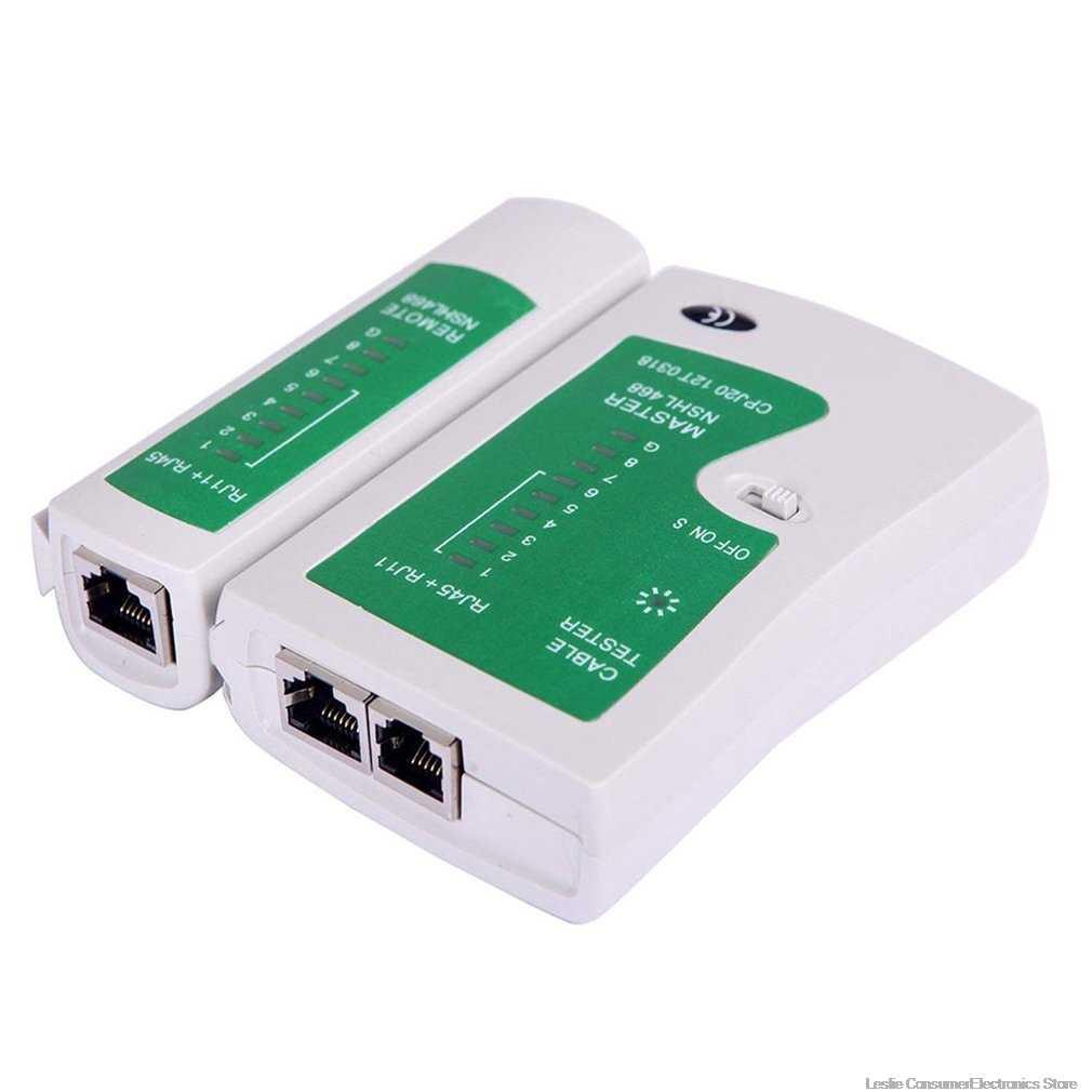 شبكة كابل شبكة محلية اختبار اختبار Rj45 Rj-11 Cat5 Utp إيثرنت أداة Cat5 6 E Rj11 8P المحمولة شبكة كابل اختبار دروبشيبينغ