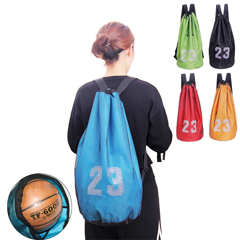 Football mesh bag Trendy Design Utility HOT Soccer Training Ball Kicking  jb
