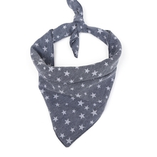 Pet Dog Supplies Pet Dog Triangle Drool Bibs Star Pattern Cotton Fabric Durable Towel For Pet Dog Cat Eating pet dog cat fish pattern cotton pajamas leisure