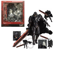Figma 410 Berserk Black Swordman Action Figure Toy Doll Gift